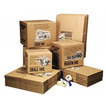 Assorted Boxes in different sizes to protect your valuables during your move.