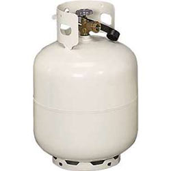 Refill or exchange your propane tanks.