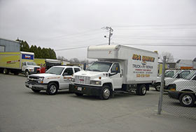 Ira Smith's Truck Rental & Repair facility.