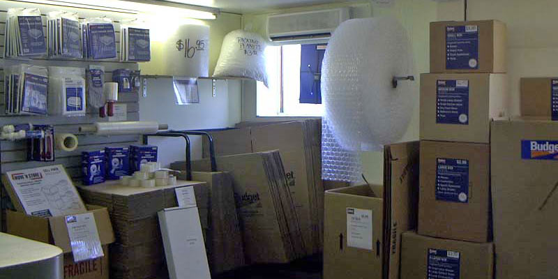 Packing Boxes, Bubble Wrap, and Moving Supplies